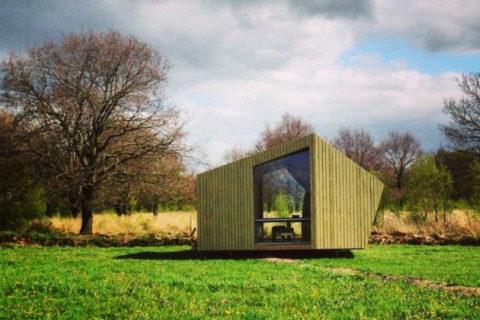 Trekken van hut naar hut door Nederland