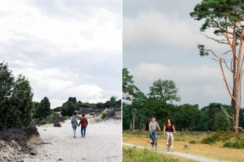 De digitale fiets- en wandelroutes van het 'oeroude' Drenthe