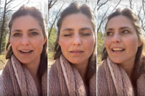 Beleef je korte wandelingen intenser met een korte meditatie van Bianca