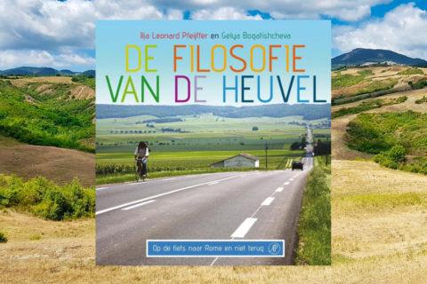 2600 km fietsen van Leiden naar Rome in 208 pagina's