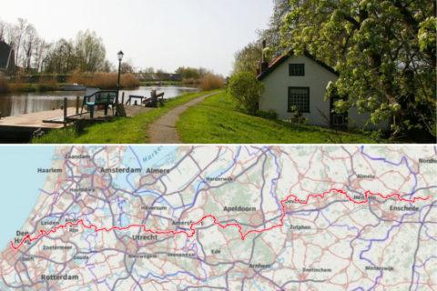 Het Marskramerpad, oude handelsroute van 372km dwars door Nederland