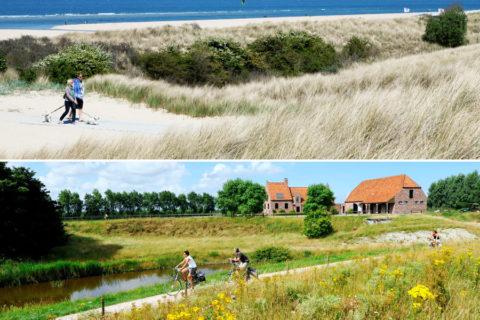De Top-10 fiets- en wandelroutes van Zeeland