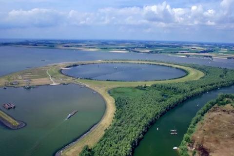 Fietsroute rond het Ketelmeer en langs het IJsseloog