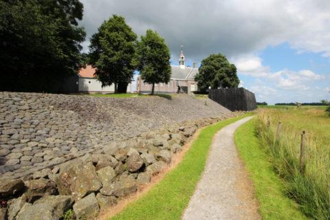 Wandelen of fietsen op voormalig eiland Schokland