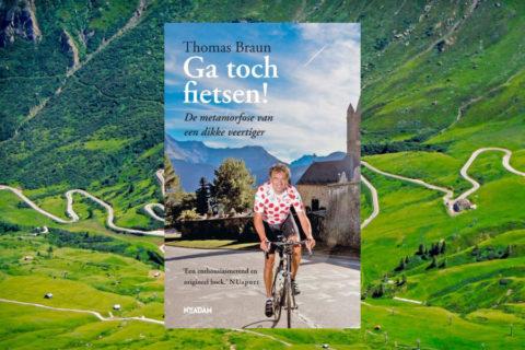 'Ga toch fietsen', 189 pagina's lachen en lijden op weg naar gezonder leven