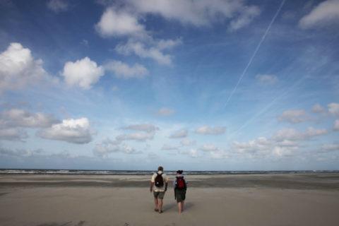 Wandelen, fietsen, struinen en wadlopen met de schoonste lucht van Nederland