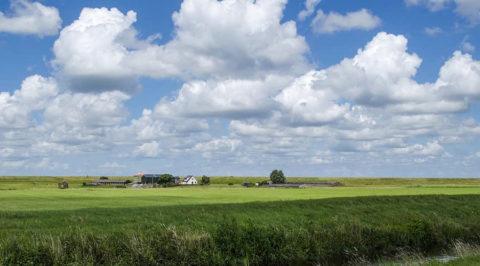 Rondgaande fietsroute over de West-Friese Omringdijk