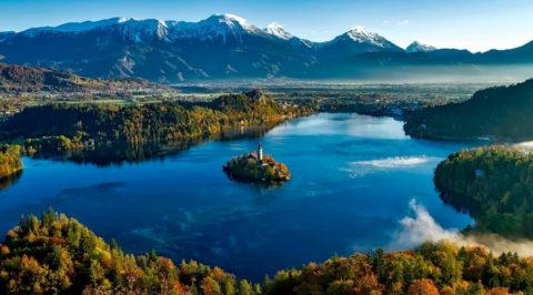 Rondgaande fietstocht langs de parels van Noord-Slovenië vanuit Bled