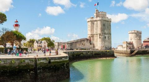 Fietsen over de Vélodyssée in Bretagne van Nantes naar La Rochelle