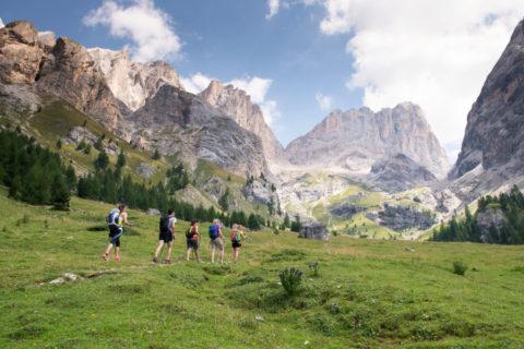 Familie wandelvakantie Val di Fassa incl berghutten