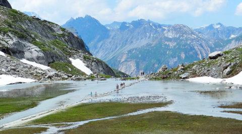 Op huttentocht door 'La Vanoise' in het hart van de Franse Alpen