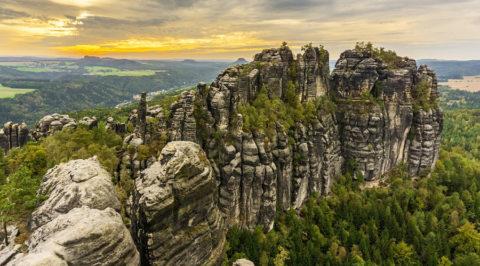 Wandelen over de inspirerende Malerweg in de Sächsische Schweiz