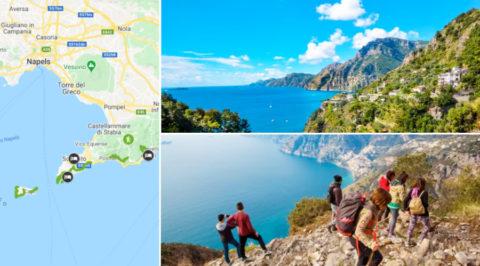 Het Pad van de Goden: Wandelroute langs de Italiaanse Amalfikust
