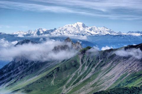 Huttentocht Beaufortain met uitzichten op Mont Blanc