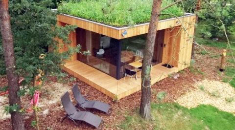 Natuur snuiven en overnachten in een ecologische Hotelhut op de Veluwe