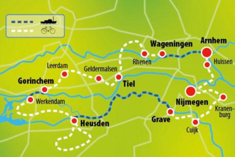 Fietsen en varen door Nederlands mooiste rivierenlandschap