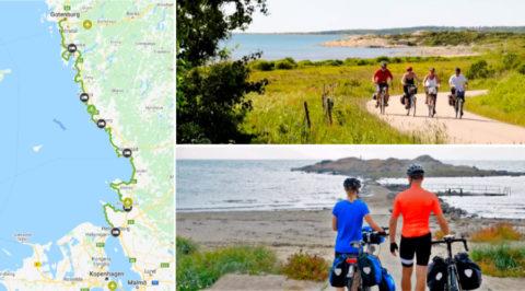 Kattegattleden: Eerste nationale fietsroute van 390km langs Zweedse kust