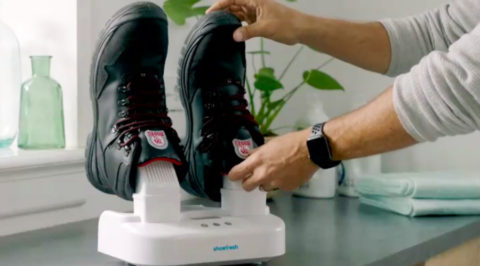 Je wandelschoenen in 25 minuten weer fris en droog met Shoefresh