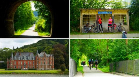 Overzicht van de mooiste fietsroutes over voormalige spoorlijnen in Europa