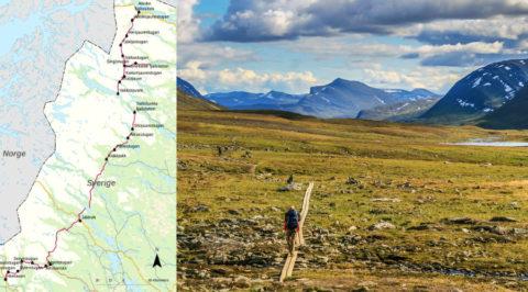 Kungsleden: het 425km lange Koningspad door het Zweedse Lapland