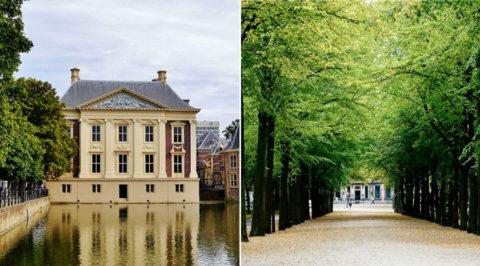 Koninklijke Wandelroute langs de hoogtepunten van Den Haag