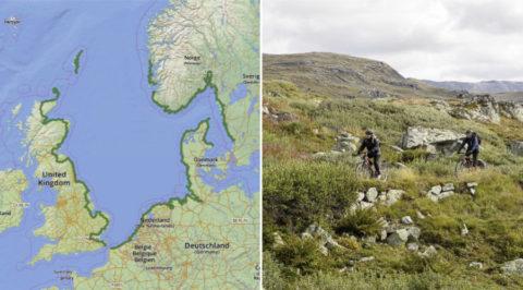 Noordzee Fietsroute: met 6666km door 9 landen de langste van Europa