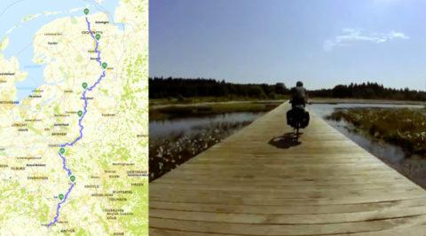Volg het Pieterpad op de fiets: in 9 etappes van Pieterburen naar Maastricht
