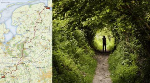 Langste Natuurpad van Nederland: van Noord naar Zuid over onverharde paden