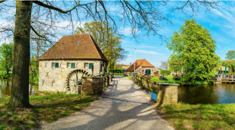 Fietsen door de dalen van 5 kleine Nederlandse rivieren