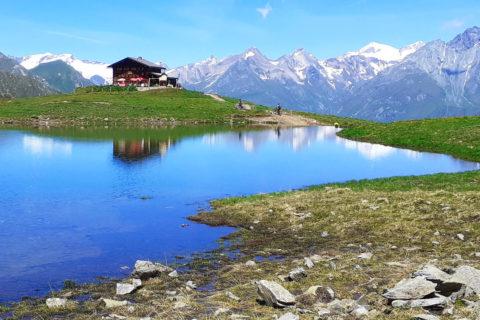 Huttentocht Oost-Tirol langs zes meren in het Virgental