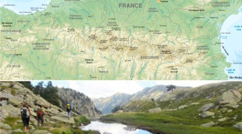GR11: van Atlantische oceaan naar Middellandse zee over de Pyreneeën