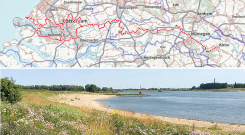 De Grote Rivierenroute: wandelroute door oer-Hollands rivierenlandschap