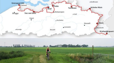 De Grensroute: Indrukwekkende fietsroute langs onze zuidgrens