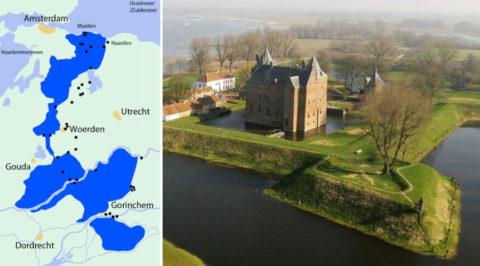 Wandel of fiets langs ons nieuwe Werelderfgoed: 'Hollandse Waterlinies'