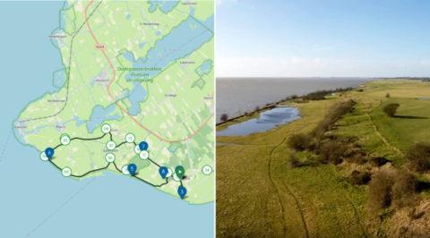 Fietsen van klif naar klif over de 'Kliffenroute' van het Friese Gaasterland