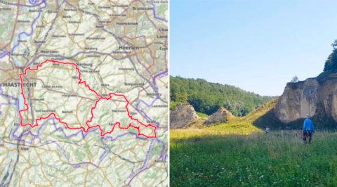 Wandelen over het 'Krijtlandpad' langs Duitse en Vlaamse grens