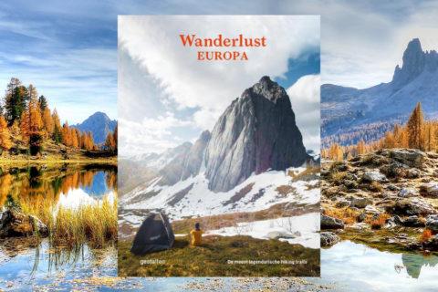 De meest legendarische wandelroutes van Europa in 328 pagina's